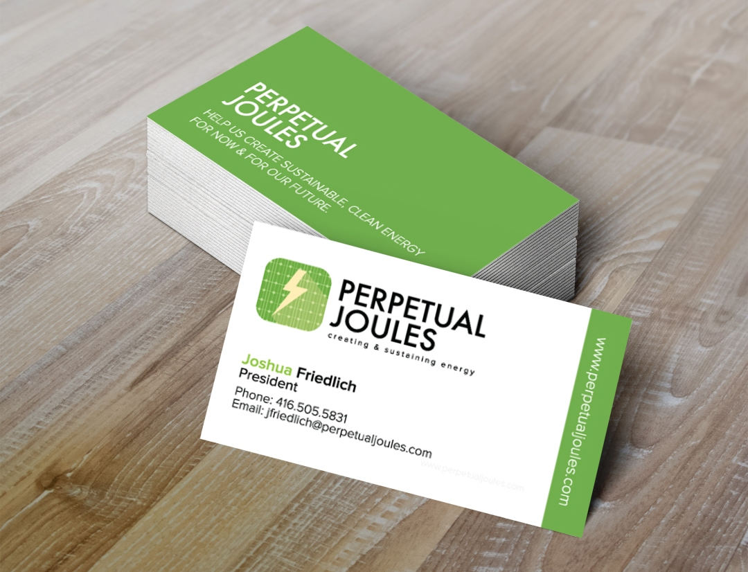 Perpetual Joules Business Cards