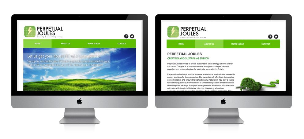 Perpetual Joules Website
